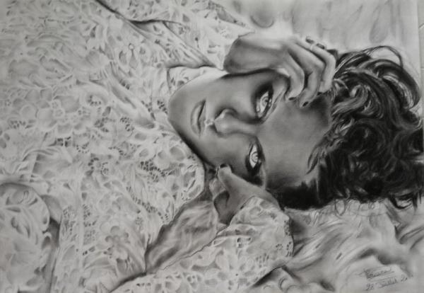Kristen Stewart by FlosDrawing